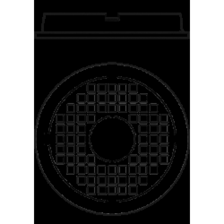 Люк полимерпесчаный круглый 105 Л зеленый