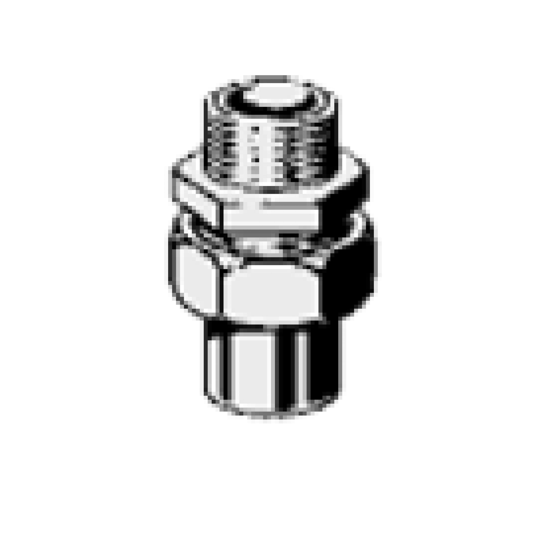 Разъемное соединение с наружной резьбой с коническим уплотнением 15х3/4 120771