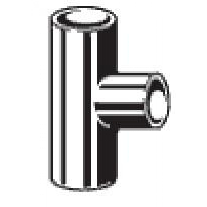 Тройник-переходник 15х10х15 мм пайка-пайка медь 106355